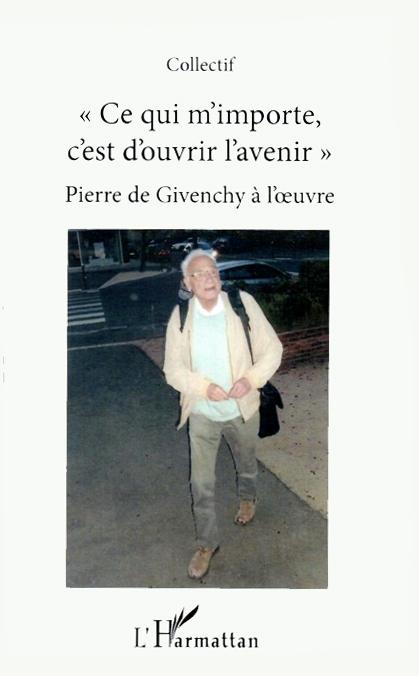 Couverture du livre sur Pierre de Givenchy