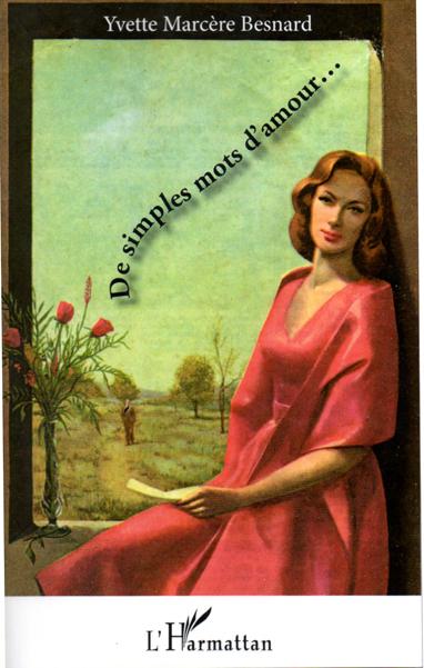 couverture du recueil de poèmes d'Yvette Marcère Besnard