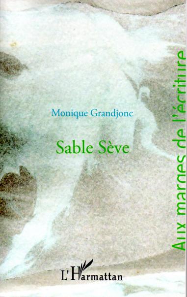 """couverture de """"Sable Sève"""""""